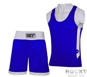 Боксерская форма Green Hill interlock, Синяя Green Hill